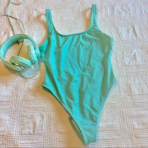 ASOS Mint Green One Piece-6